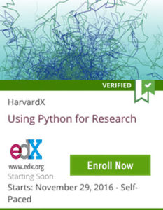 Links to Using Python for Research
