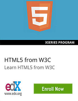 Links to HTML5 XSeries
