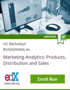 Links to UC BerkeleyX Marketing Analytics