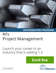 Links to Project Management MicroMasters