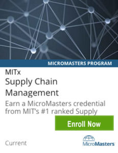Links to Supply Chain MicroMasters