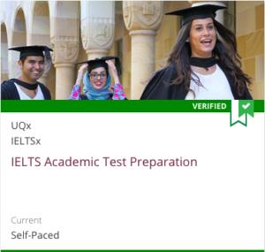 Links to UQx IELTS Academic Test Preparation