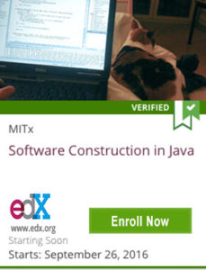 Links to Software Construction in Java