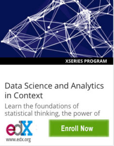 Link To Data Science and Analytics in Context from ColumbiaX
