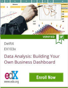 Link To Data Analysis: Building Your Own Business Dashboard from DelftX