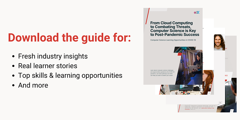 Download the guide for fresh industry insights, real learner stories, top skills and learning opportunities, and more