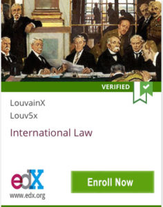 Link To International Law from LouvainX