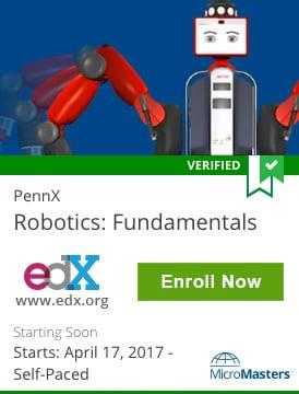Links to Robotics Fundamentals course