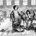the-field-lane-ragged-schools-with-girls-lined-up-for-disciplinary-action